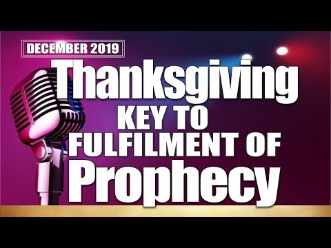 SPECIAL ANOINTING (1ST SERVICE) DECEMBER 22, 2019