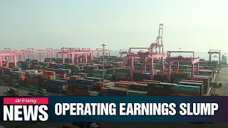 S. Korea's top 10 business gropus' operating earnings tumbled 54% in first half of 2019