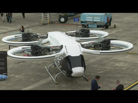 In Toulouse, Airbus presents its flying taxi planned for 2023   AFP