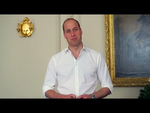 HRH Prince William accepts the British LGBT Awards honour for 'Ally of the Year'