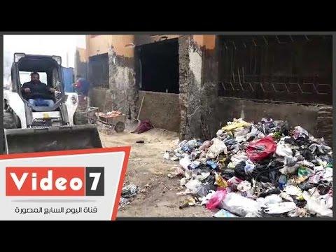 بالفيديو.. رئيس مدينة أوسيم يشن حملة لرفع القمامة من أمام المدارس