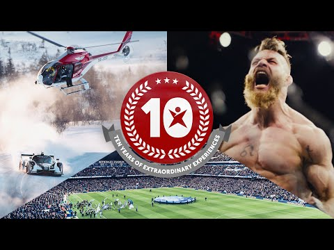 10 Years of Extraordinary Experiences - Betsafe - Norway TV Commercial