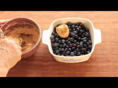 Melt-in-your-Mouth BLUEBERRY COBBLER Recipe || Late Bloomer