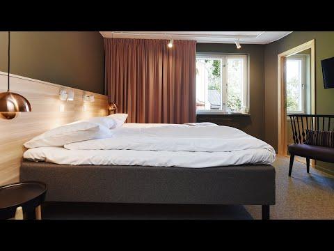 Direktorsrum som 3-bäddsrum på Ersta konferens & hotell