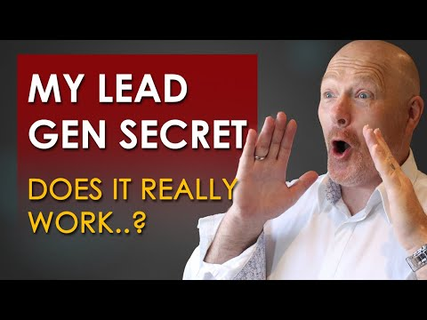 My Lead Gen Secret Review -  Does My Lead Gen Secret Work..?