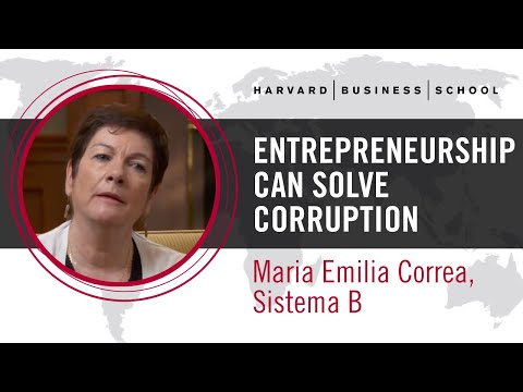 Sistema B's Maria Emilia Correa: Entrepreneurship Can Solve Corruption