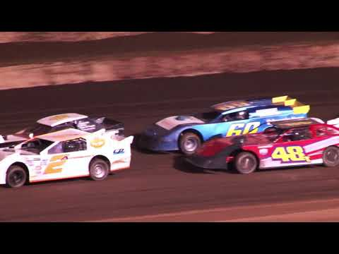 Perris Auto Speedway PASSCAR Super Stocks 25 Lap Main Event 9-16-21 - dirt track racing video image