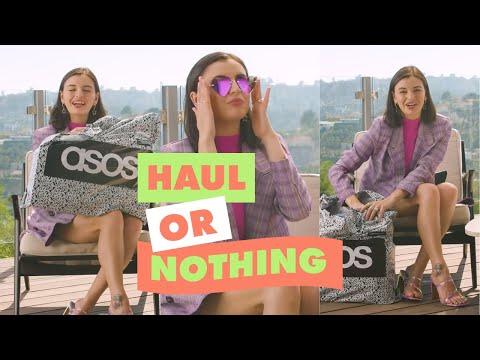 asos.com & Asos Voucher Code video: Rebecca Black Talks Us Through Her ASOS Order | ASOS Haul Or Nothing