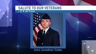 NBC 15 WPMI- Salute to our veterans Airman Jonathan Cates