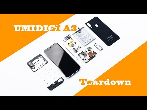 UMIDIGI A3 Disassembly: Dual 4G VoLTE Triple Slots Entry-level Beast