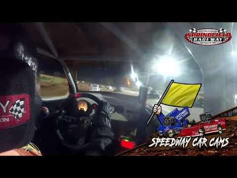 #00 Cason Harris - Legend - 04-11-2021 Springfield Raceway - In Car Camera - dirt track racing video image