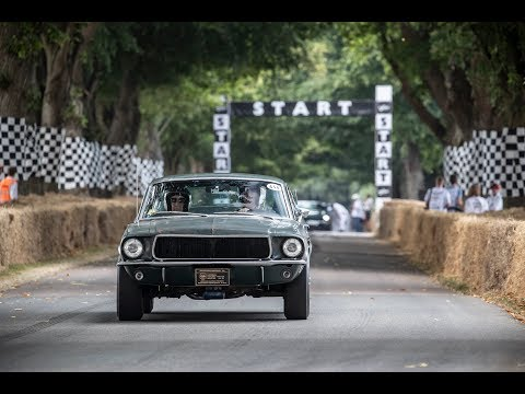 Original Mustang BULLITT at Goodwood Festival of Speed 2018