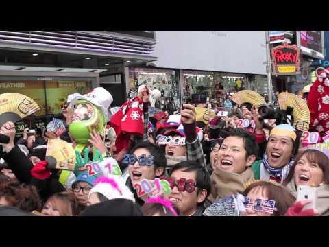 大熱狂のニューヨークタイムズスクエア 年末カウントダウン - イベントレポート!