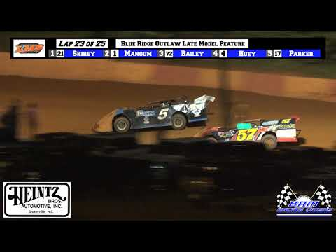 Blue Ridge Outlaw Late Model Feature - Lancaster Motor Speedway 6/5/21 - dirt track racing video image