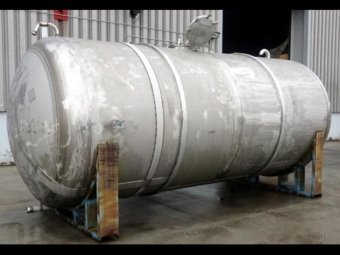 Used- Curtis Kelly Metal Fab. Tank, Approximate 5,500 Gallon - stock # 48608002