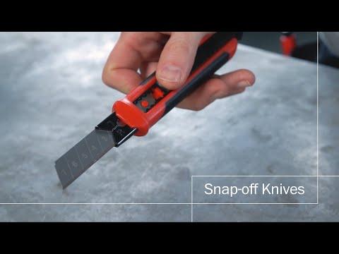 Hultafors - Brytbladsknivar & reservblad