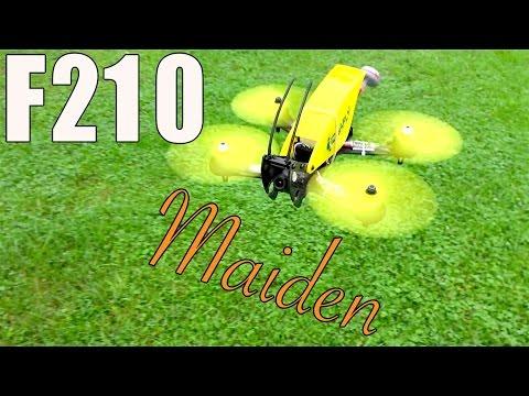 Ideafly F210 Grasshopper Maiden Flight - UC2c9N7iDxa-4D-b9T7avd7g