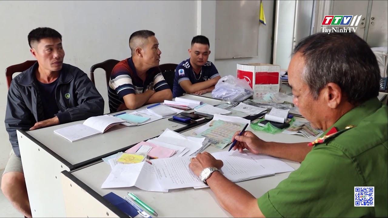 Tây Ninh: bắt giữ 4 đối tượng cho vay lãi nặng   An ninh hình sự   TâyNinhTV
