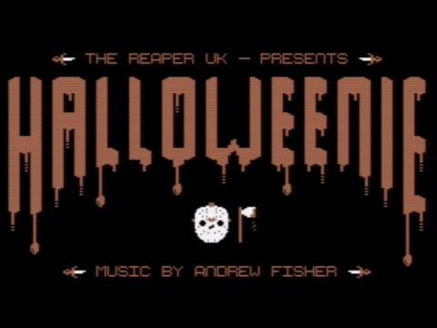 RETROJuegos Homebrew - Halloweenie (c) 2020 The Reaper UK p/ Commodore 64 #RETROJuegos byFabio