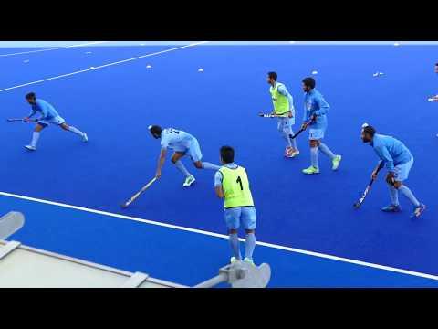 India mens hockey mini game