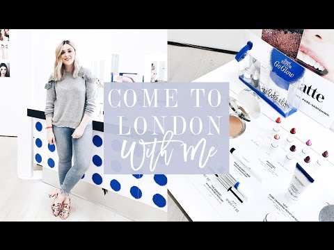 COME TO LONDON WITH ME FOR THE GLAMOUR BEAUTY FESTIVAL! | I Covet Thee | AD