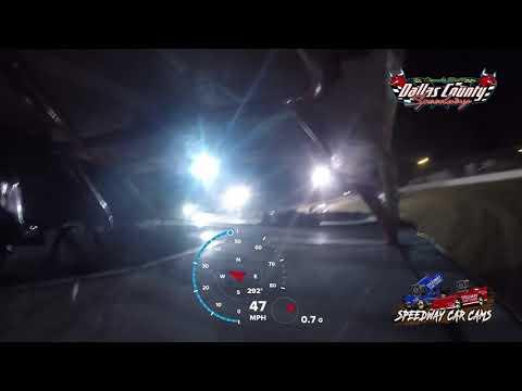 #44 Zack Willis - USRA Stock Car - 8-13-2021 Dallas County Speedway - In Car Camera - dirt track racing video image