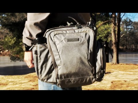 Maxpedition Cross Body Bag: EDC-Friendly - Carry Your iPad, Books, CCW, And Other Gear For The Day