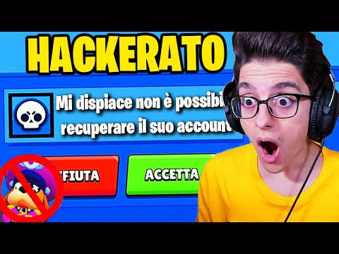 POSSIAMO RECUPERARE L ACCOUNT HACKERATO SU BRAWL STARS?!!