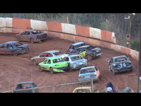Part 1 - Enduro - East Lincoln Motor Speedway 1/16/21 - dirt track racing video image