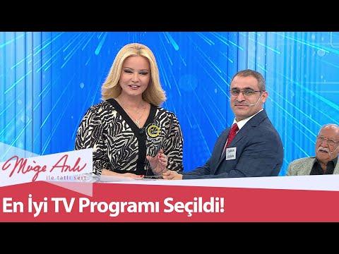 Üst üste 9  Kez En iyi Tv programı seçildi - Müge Anlı ile Tatlı Sert 18 Haziran 2021