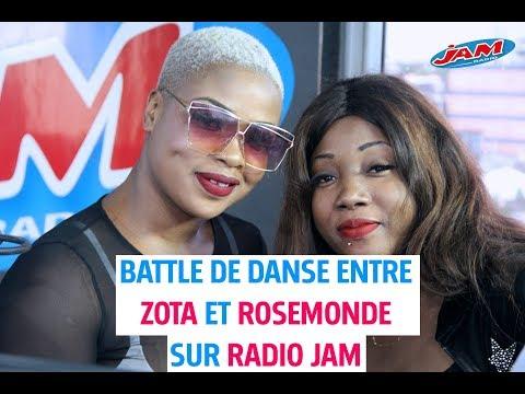 Battle de danse entre zota et Rosemonde sur Radio Jam