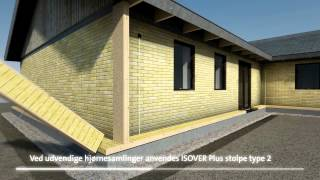 Ultra Energirigtig facadeisolering med ISOVER Plus Systemet - YouTube EB82