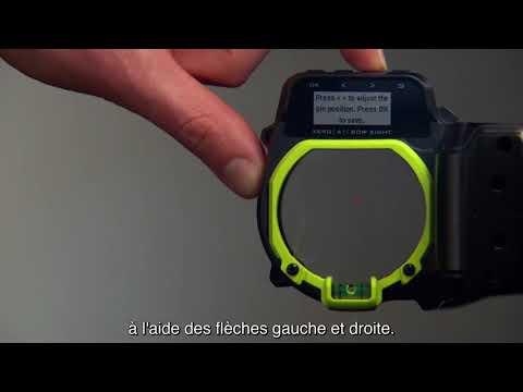 Garmin Xero™ A1/A1i - Placement personnalisé du point de visée supérieur