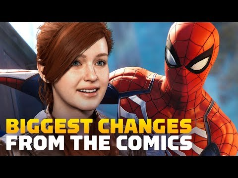 Spider-Man PS4's Biggest Changes From Marvel Comics - UCKy1dAqELo0zrOtPkf0eTMw