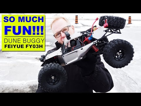 Feiyue FY03H 4WD RC Off Road Buggy Low Speed Vs High Speed