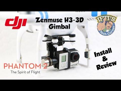 #5: DJI Phantom 2 - H3-3D Gimbal Installation Guide & Review - UC52mDuC03GCmiUFSSDUcf_g