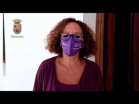 25N Diputación de Cádiz. Acción conjunta contra la violencia machista. Benaocaz.