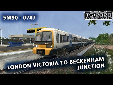 Train Simulator 2020: [DPS] 5M90 - 0747 London Victoria to Beckenham Junction