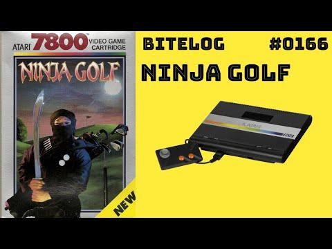 Ninja Golf (ATARI 7800 / EVERCADE) [BITELOG 0166] Partida Completa