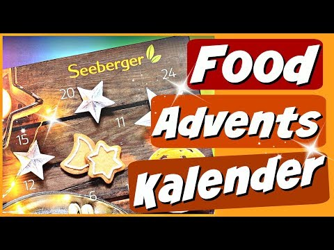 SEEBERGER Food Adventskalender - Weihnachtskalender unboxing - 9999 Dinge