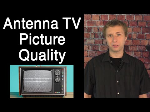 The Picture Quality of Free OTA Antenna TV - How Is It?