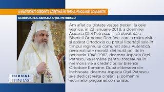 Scriitoarea Aspazia Otel Petrescu a trecut la Domnul