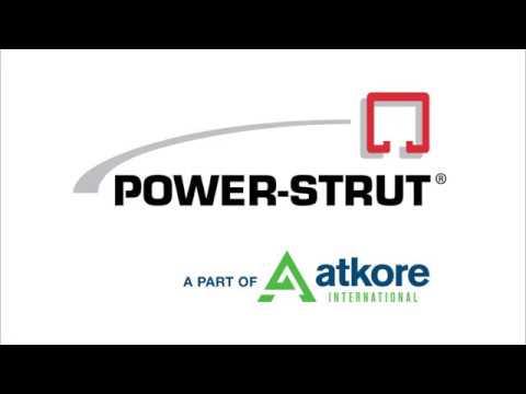 Power-Strut Installation Demonstration
