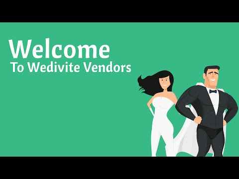 HOW TO promote your wedding business with Wedivite Vendors!