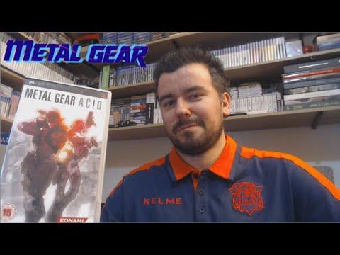 METAL GEAR ACID (PSP) - El juego de cartas de Solid Snake