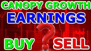 Canopy Growth Earnings Q1 2020 Selloff - Time To buy Or Sell Technical Analysis CGC And Aurora 2019