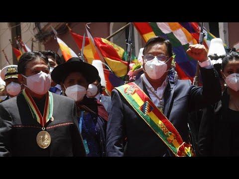 El izquierdista Luis Arce ya es el nuevo presidente de Bolivia