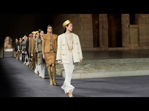 Chanel presents Egyptian-themed collection around The Met's Temple of Dendur