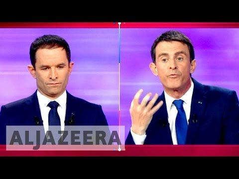 France: Manuel Valls, Benoit Hamon clash in socialists' run-off vote