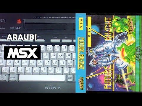 Future Knight (Gremlin, 1986) MSX [297] Walkthrough Comentado